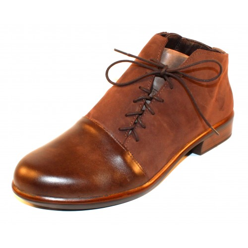 Naot Women's Camden In Pecan Brown/Coffee Bean/Vintage Fog