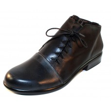 Naot Women's Camden In Vintage Ash Leather/Coal Nubuck/Black Leather
