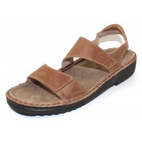 Naot Women's Enid In Latte Brown Distressed Leather