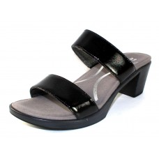 Naot Women's Fate In Black Lustre Leather