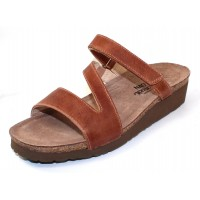 Naot Women's Gabriela In Latte Brown Burnished Leather