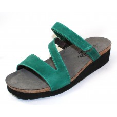 Naot Women's Gabriela In Oily Emerald Nubuck