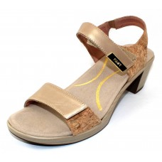 Naot Women's Intact In Champagne Leather/Gold Cork Leather/Gold Threads Leather