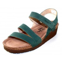 Naot Women's Kayla In Sea Green Leather