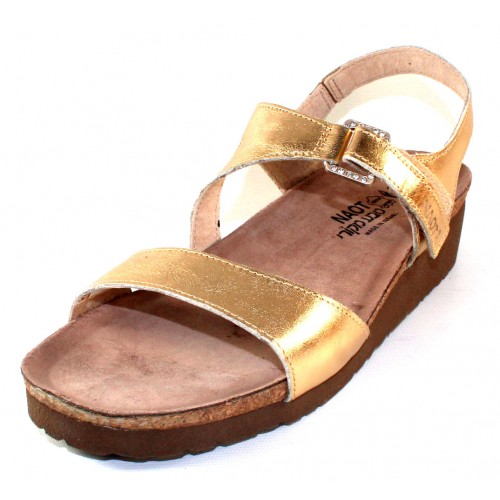 Naot Women's Pamela In Gold Leather