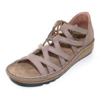 Naot Women's Yarrow In Stone Nubuck