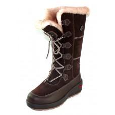 Pajar Women's Nicole In Brown Waterproof Leather/Suede
