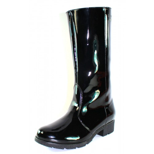 Palmroth Original Women's Mari In Black Waterproof Patent Leather