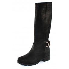 Palmroth Original Women's Sammi In Black Waterproof Grain Leather