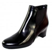 Pas De Rouge Women's Lucia M623 Wp In Black Waterproof Leather