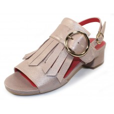 Pas De Rouge Women's Selene 1698 In Bisque Sirio Pearlized Leather