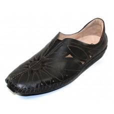 Pikolinos Women's Jerez 578-7399 In Black Leather