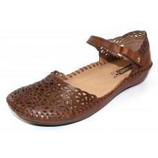 Pikolinos Women's P. Vallarta 655-1532 A In Brandy Burnished Leather