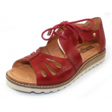 Pikolinos Women's Alcudia W1L-0917 In Coral Burnished Leather