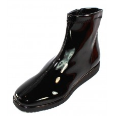 Rapisardi By Ron White Women's Lilo In Black Stretch Synthetic Patent Leather