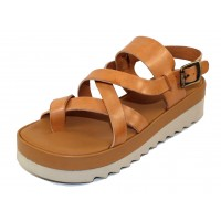 Right Bank Shoe Co Women's Leti In Natural Vachetta Leather