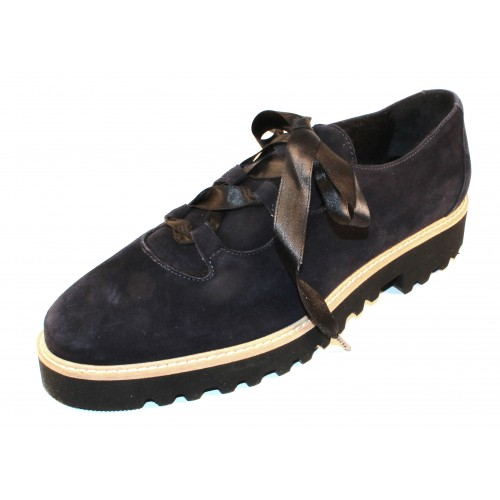 Ron White Women's Daisy In French Navy Weatherproof Cashmere Suede