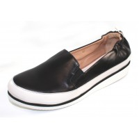 Ron White Women's Nell In Onyx Black Soft Nappa Leather