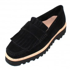 Ron White Women's Ruth Cozy In Onyx Black Waterproof Cashmere Suede