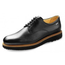 Samuel Hubbard Men's Founder In Black Full Grain Leather/Black Outsole