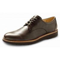 Samuel Hubbard Men's Founder In Chestnut Brown Full Grain Leather/Brown Outsole