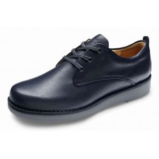 Samuel Hubbard Men's Hubbard Free In Almost Black Full Grain Leather/Grey Outsole