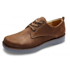 Samuel Hubbard Men's Hubbard Free In Brown Nubuck/Dark Grey Outsole