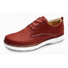 Samuel Hubbard Men's Hubbard Free In Rust Nubuck/White Outsole