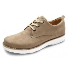 Samuel Hubbard Men's Hubbard Free In Sand Suede/White Outsole
