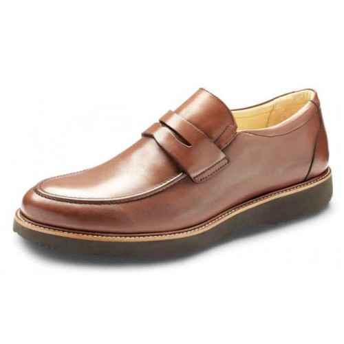 Samuel Hubbard Men's Ivy Legend In Whiskey Tan Full Grain Leather/Black Outsole