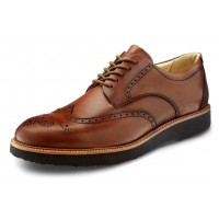 Samuel Hubbard Men's Tipping Point In Whiskey Tan Full Grain Leather/Brown Outsole