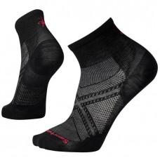 Smartwool Phd Run Ultra Light Mini Socks In Black Wool/Nylon