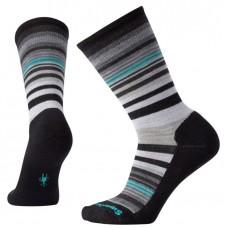 Smartwool Jovian Stripe Socks In Black Wool/Nylon