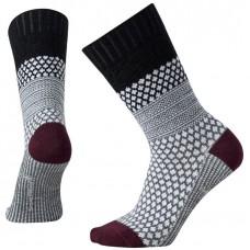 Smartwool Popcorn Cable Socks In Black Wool/Nylon