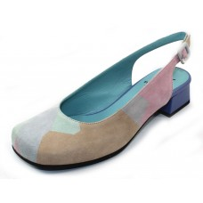 Thierry Rabotin Women's Catania In Multi Color Suede/Nappa Leather