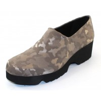 Thierry Rabotin Women's Dreamy In Pewter Domino Camoflage Fabric