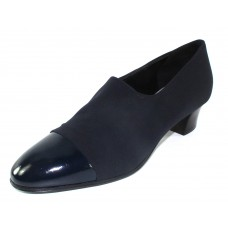 Thierry Rabotin Women's Evon In Navy Patent Leather/Microfiber