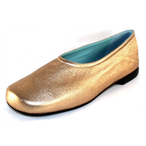 Thierry Rabotin Women's Garner In Gold Wash Metallic Leather