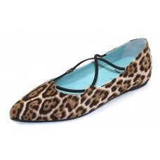 Thierry Rabotin Women's Moreto In Animal Printed Suede