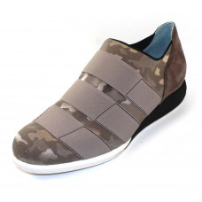 Thierry Rabotin Women's Piedmont In Pewter Domino Camoflage Fabric