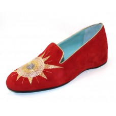 Thierry Rabotin Women's Safi In Red Suede