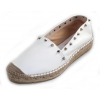 Vidorreta Women's Alboran 25853 In White Nappa Leather