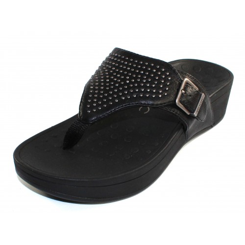 Vionic Women's Capitola In Black Leather