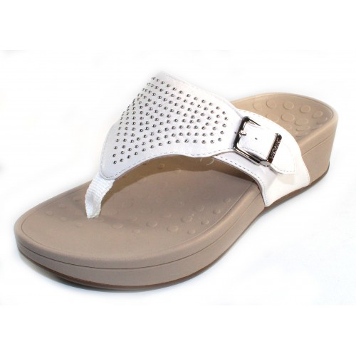 Vionic Women's Capitola In White Leather