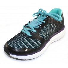 Vionic Women's Elation 1 In Black/Teal Synthetic Textile
