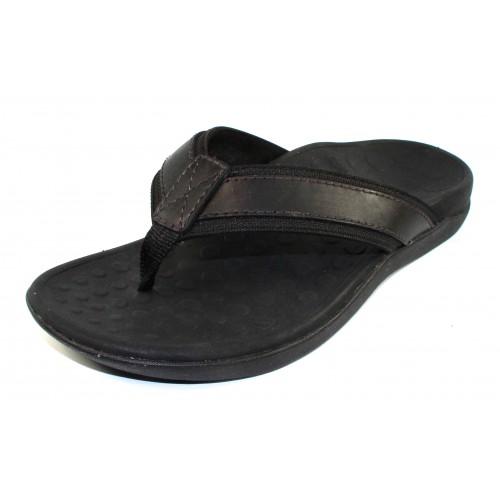 Vionic Men's Mens Tide In Black Leather