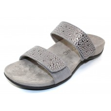 Vionic Women's Samoa In Pewter Printed Suede