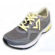 Vionic Women's Satima In Grey Fabric/Yellow