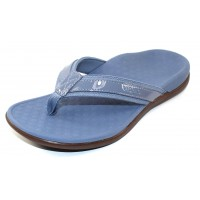 Vionic Women's Tide Ii In Light Blue Leather/Fabric