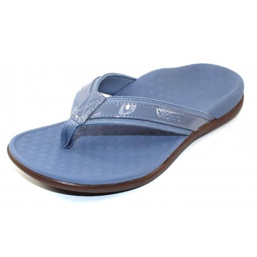 Vionic Women's Tide Ii In Light Blue Leather/Fabric